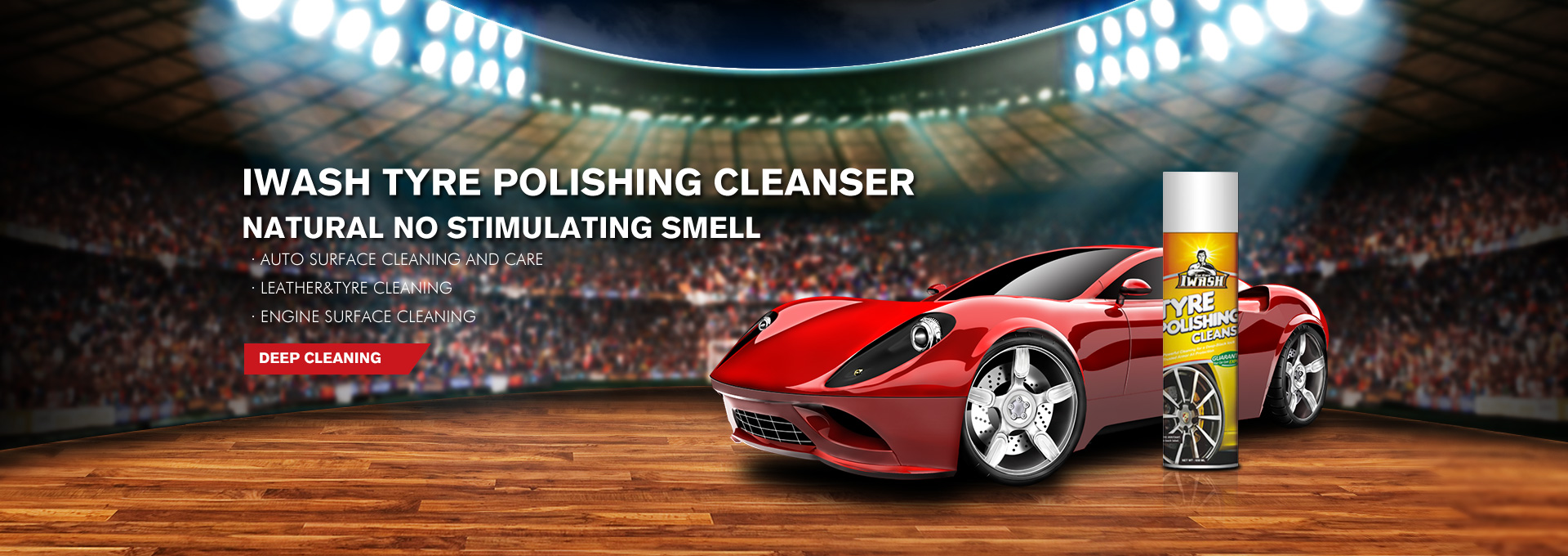 Tyre Polishing Cleanser 650ml IWASH