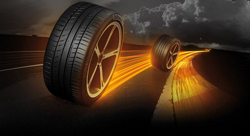 How is the car tyre maintained?